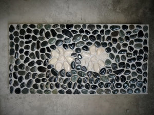 Bali Pavers Stepping Stones with Flower design 10216