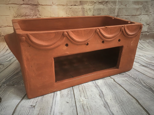 Large Balinese Terracotta Satay Holder 10217