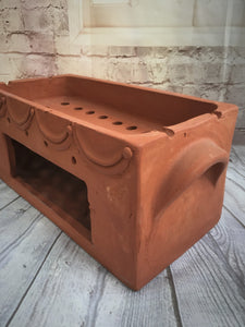 Large Balinese Terracotta Satay Holder
