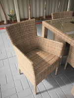 FUSION Wicker Outdoor Dining Setting
