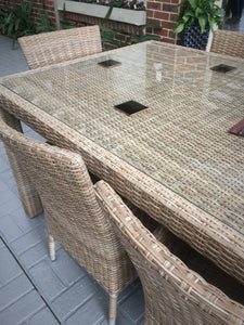 FUSION Wicker Outdoor Dining Setting 10220