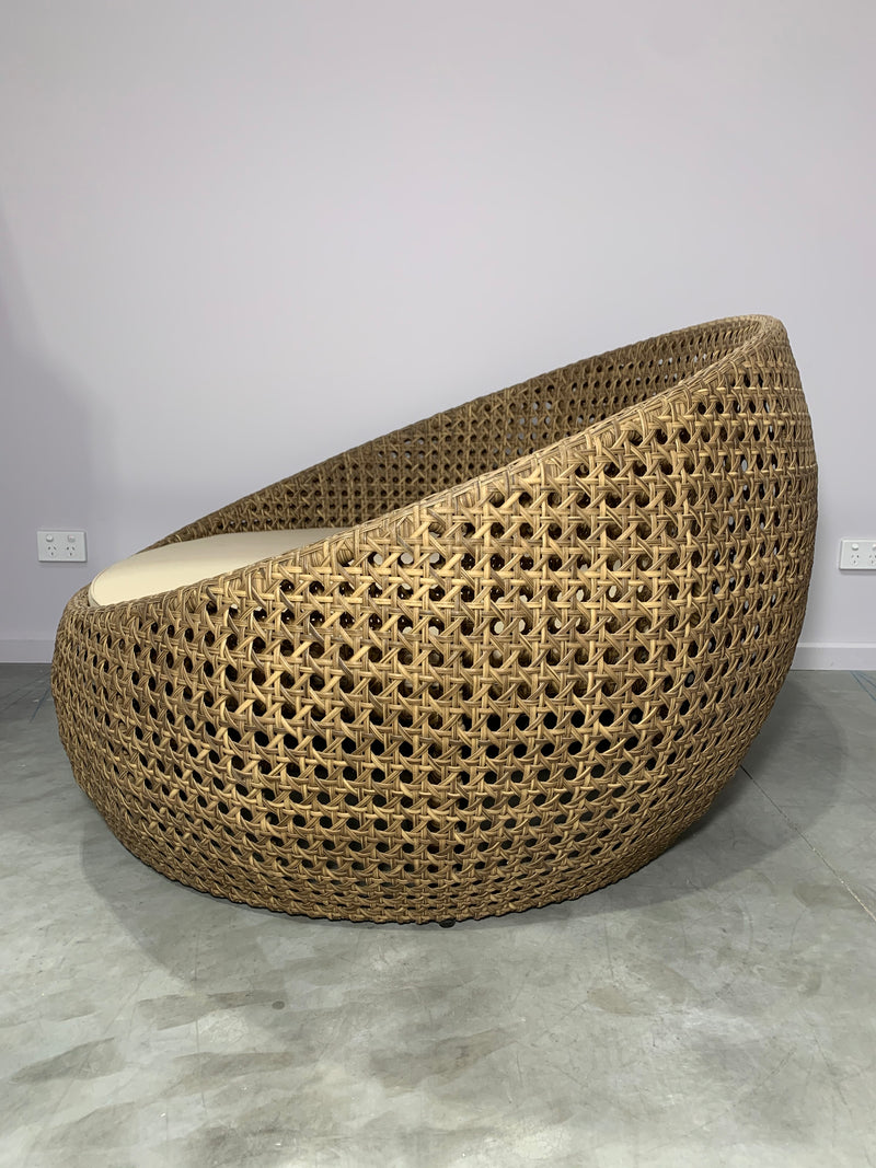 Fusion Outdoor Wicker Love Seat