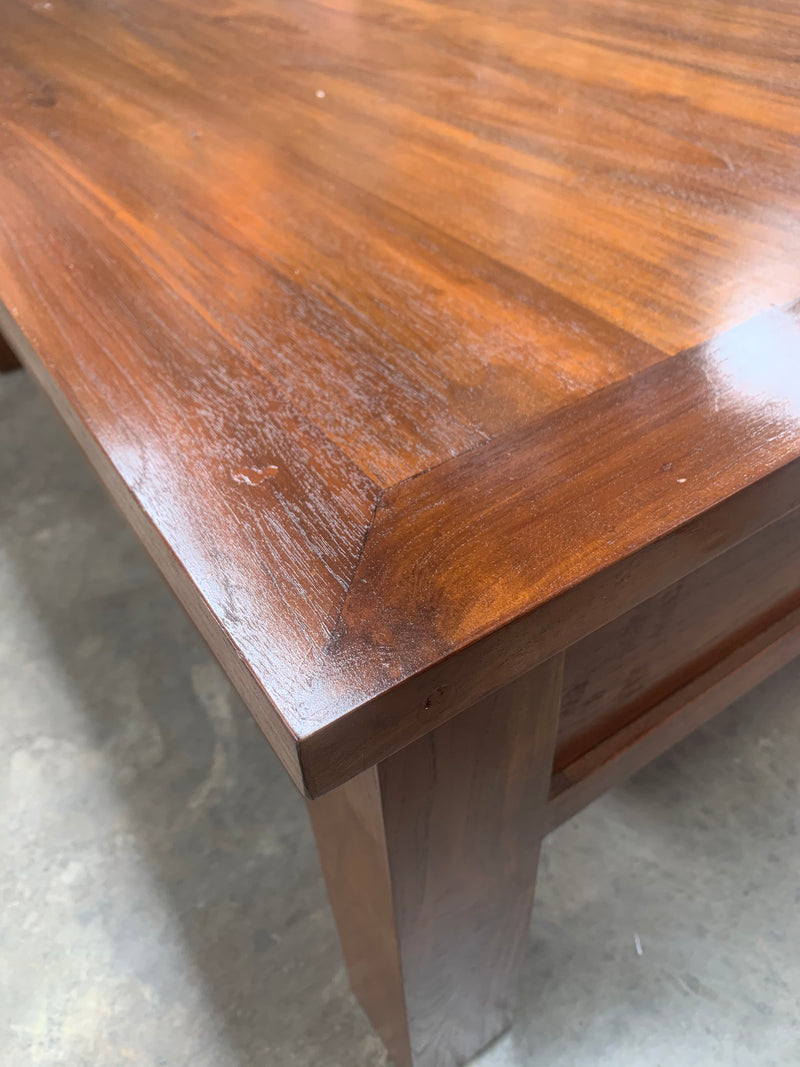 Teak Coffee Table with Drawers