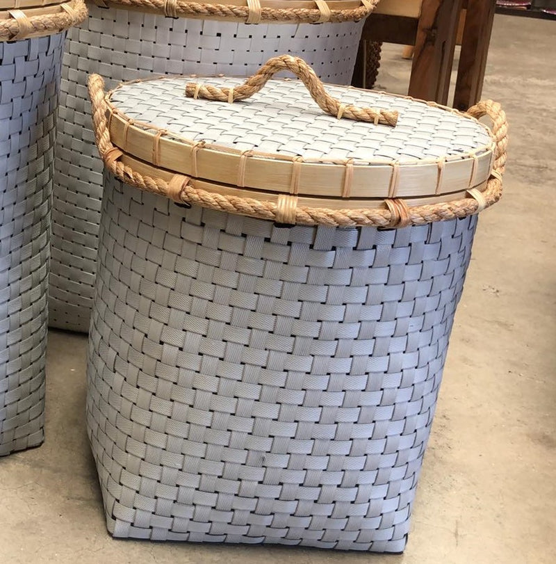Synthetic Weave Laundry Baskets