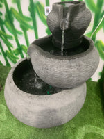Three Tier Jug Outdoor Water Feature