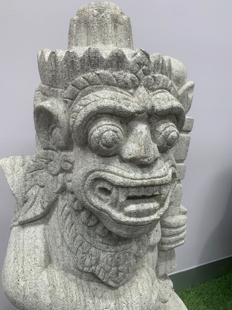 Hand Carved Balinese Barong Garden Statue