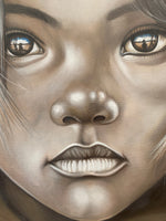 African Boy Canvas Painting
