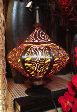 Balinese Genie Bronze Metal Bedside Light Lamp