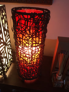 Balinese Rattan Table Lamp