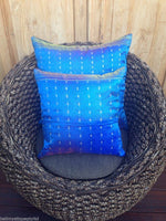 40cm Balinese Sari Gold Thread Daybed / Lounge Cushion Covers