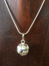Balinese Stirling Silver 925 Harmony Ball Chime Pendant and Choker