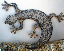 Balinese Rattan Gecko Lizards Wall Art #1187