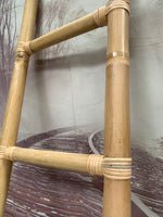 Balinese Natural Large Bamboo Ladder Towell Rail Towel Rack Hanger