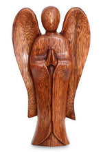 Balinese Hand Carved Angel Wood Carving Statue