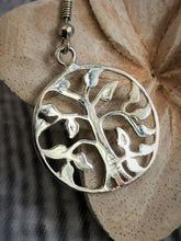 Silver Plated 925 Tree of Life Earrings