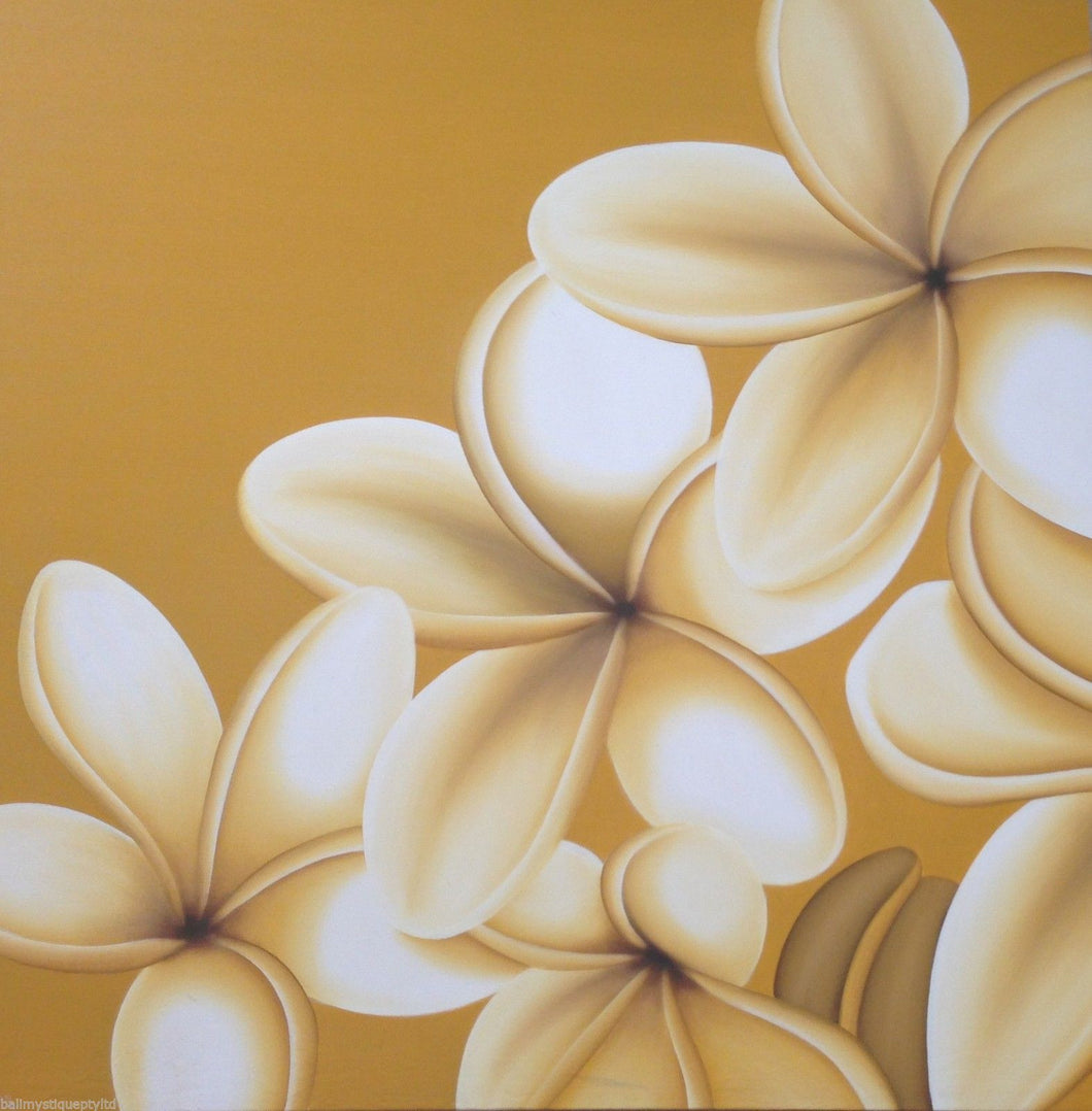 Frangipani Canvas Painting  #1636