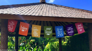Believe Affirmation Flag Hanger