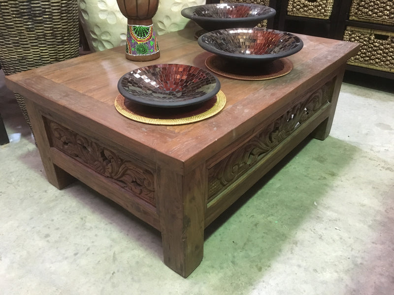 Balinese Hand Crafted Coffee Table