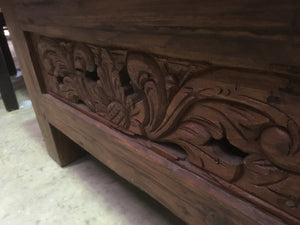 Balinese Hand Crafted Coffee Table #1854