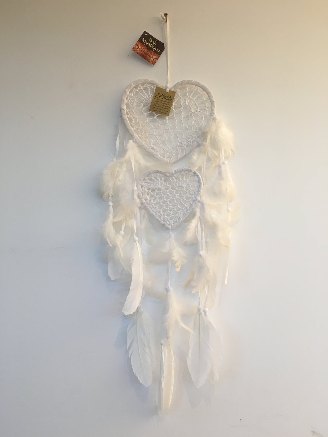 Balinese Heart Dream Catcher #1881