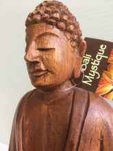 Balinese Hand Carved Timber Sitting Buddha Statue #1886