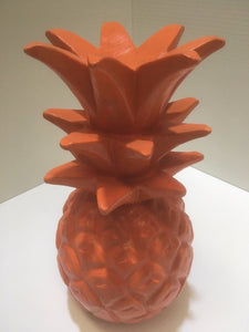 Hand Carved Wooden Pinapple #1711