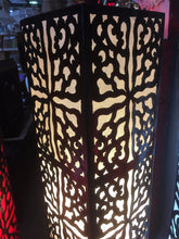 Load image into Gallery viewer, Balinese Moroccan Metal floor Lamp