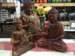 Siddhartha Carved Wooden Buddha Statue