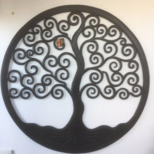 Hand Carved Tree Of Life Wall Hanging 100cm