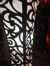 Load image into Gallery viewer, Balinese Iron Silhouette Floor Lamp