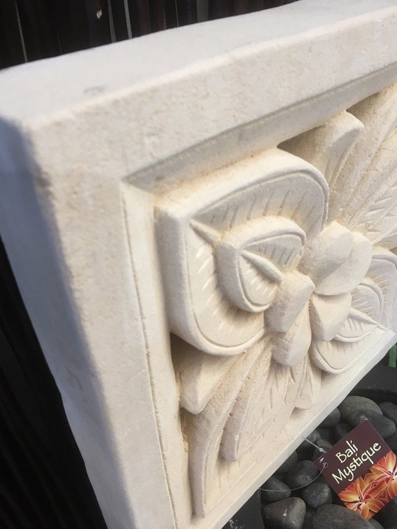 Limestone Flower Tile