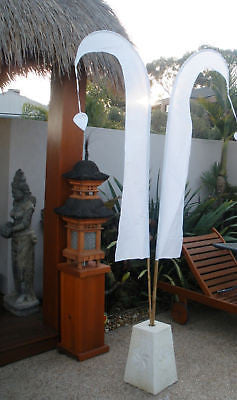 Balinese 2 Metre Wedding Bali Flag Including Bamboo Pole