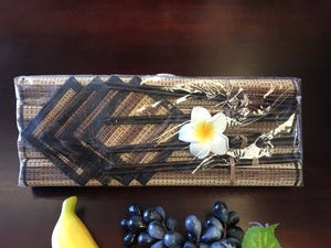 Set of 4 Balinese Lidi Stick Place mats Coasters & Chop Sticks #746