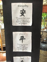 Balinese Black & White Prayer Flag or Multi Affirmation Scroll
