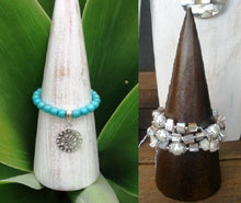 Balinese Timber Jewellery Bracelet Display Cone
