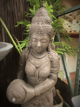 Balinese Cast Concrete Dewi Sri Rice Goddess Water feature Statue #857