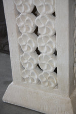 Frangipani Limestone Coloured Pedestals