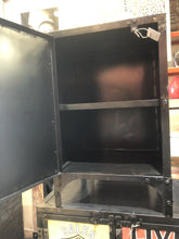 "Metal ""NEW YORK"" One Door Cabinet CS178"