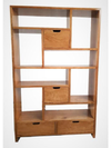 Kresna 4 Drawer Bookcase