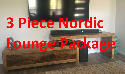 3 Piece Nordic Lounge Package