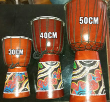African Djembe Tribal Drum