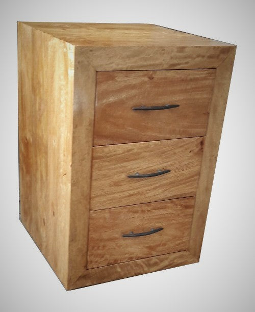 Kresna 3 Drawer Bedside Unit