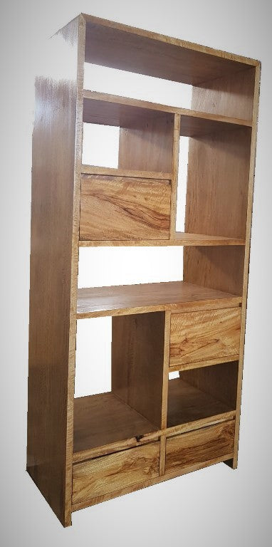 Kresna Slim 4 Drawer Bookcase