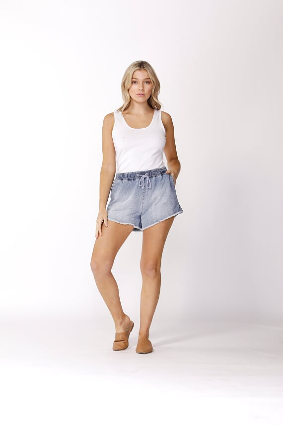 Annix Denim Shorts