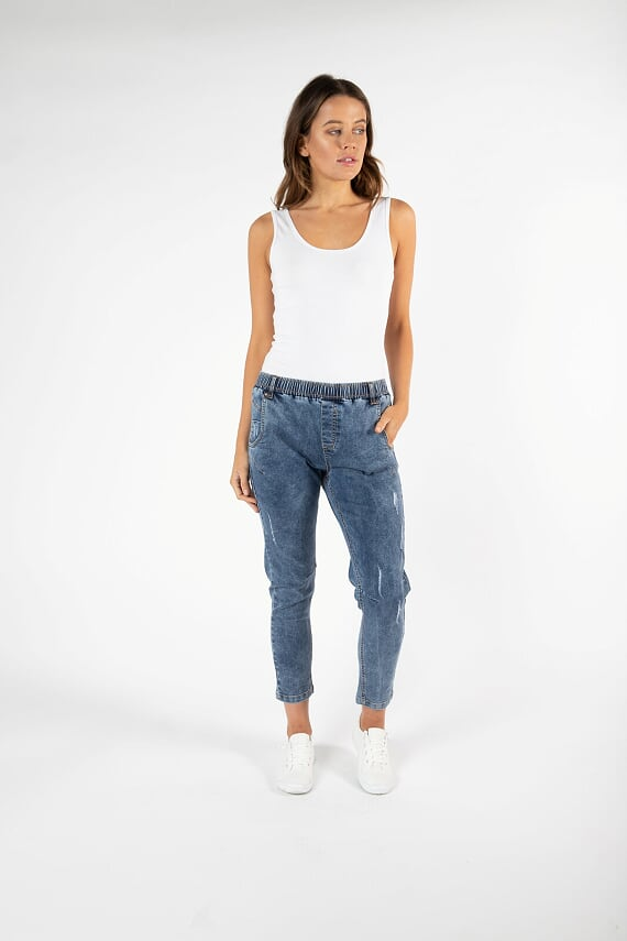 Finley Denim Jogger