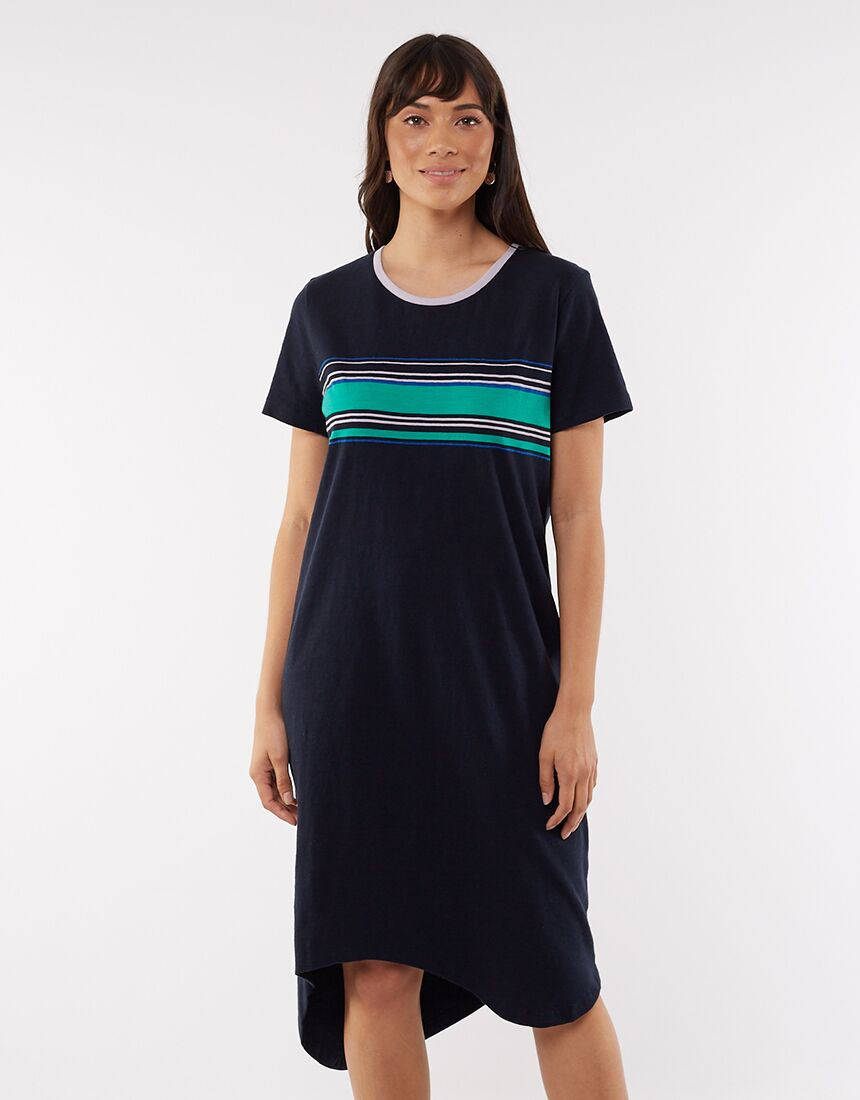Bright Lights Tee Dress