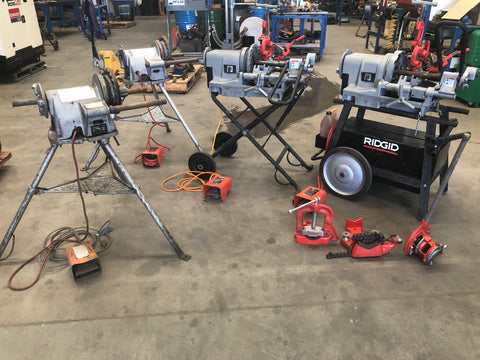 Hire RIDGID pipe threading machine from HCT Industrial in Perth