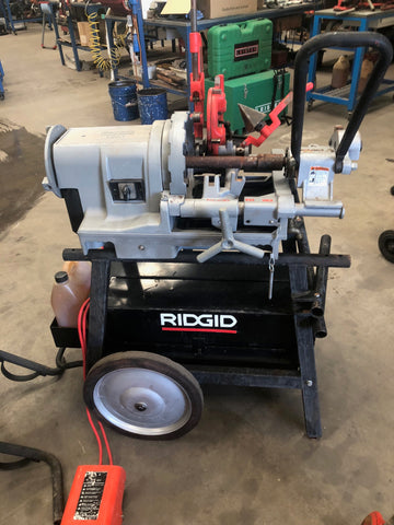 Hire RIDGID pipe threading machines from HCT Industrial in Perth