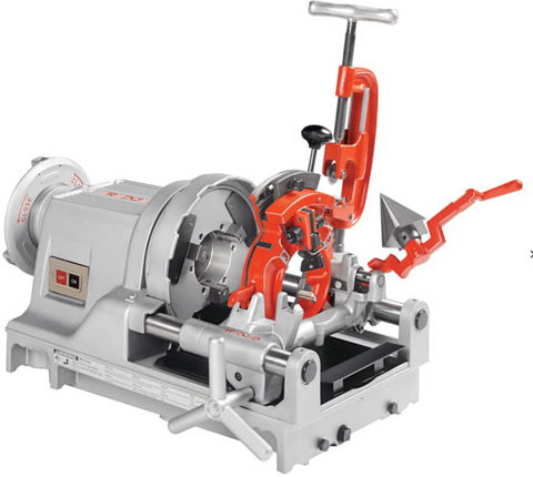 RIDGID® 1233 pipe threading machine