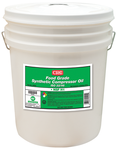 FOOD GRADE SYNTHETIC COMPRESSOR OIL ISO 32/46 CRC FG04202